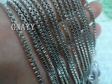 GNAYY 5meter Lots stainless steel Box chain Jewelry Finding Chain DIY Thin 1.6mm