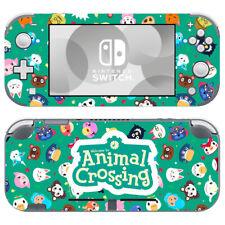 Nintendo Switch Lite Skin Decal Sticker Vinyl Animal Crossing New Horizons Green