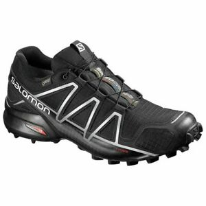 Salomon Speedcross 4 GTX Black Men's Trail Running Shoe UK Size 11 RRP £ 150.00.