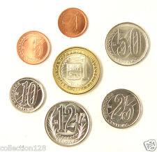 Venezuela coins set of 7 pieces 2007 UNC