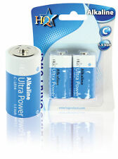 2 Stück LR14 Batterien / 2er Pack / Baby C / Alkaline / 1,5 Volt