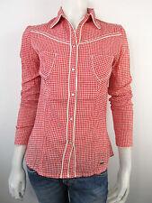 Guess Overhemd Bloes Bluse W21H00 Top Shirt Neu Kariert S