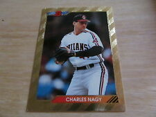 1992 Bowman Foil Charles Nagy  #566 Card  (Indians)  L@@K!!!