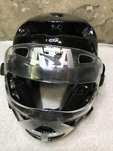 ATA Macho Martial Arts Taekwondo Karate Youth Helmet Head Gear And Face Shield
