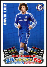 David Luiz Chelsea Fútbol #79 Topps Match Attax Tarjeta de 2011-12 (C208)