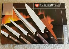 Kuchenstolz Precision Crafted Cutlery 6-pc Knife Set + cutting board