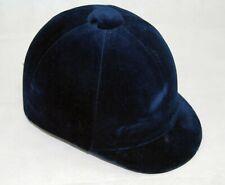 Champion Junior CPX 3000 Velvet Riding Hat - Navy Blue.