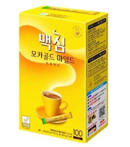 Korean Coffee Mix Maxim Mocha Gold Mild 20/50/100 Sticks