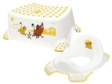 Disney Lion King Kids Toilet Training Seat And Non Slip Step Stool for Toddlers