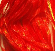 RIBBON BONANZA - More Than 8 metres NARROW RIBBON  - Scarlet