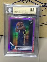 2019-20 DONRUSS OPTIC ZION WILLIAMSON #158 PINK HYPER ROOKIE BGS 💎9.5💎GEM MINT