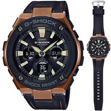 Casio G-Shock G-Steel GST-S120L-1A Tough Solar Leather Strap Men's Watch 52mm