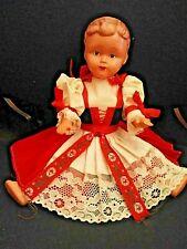 Antique (pre-1930) PoupÉe Ari Papa Vintage Caoutchou 11cm German Gomme Mini Doll Mint Neuve 11cm Dolls