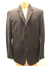 Prada Men's Black Nylon Panama Jacket Size 56