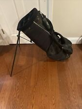 Callaway Izzo Carry Stand 6 Way Golf Bag Black - USED