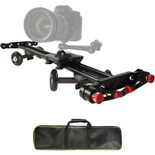 Vidpro SK-24 24 Inch Track Slider and Skater Dolly for DSLR Camera & Camcorders