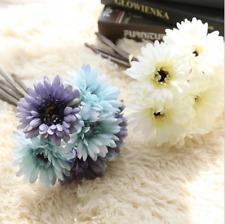 25cm Artificial Daisy Gerbera Rose Silk Flowers Flower Floral Fake Wedding