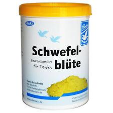 Backs Schwefelblüte 600g (99,95% Schwefel - geeignet für Pferde, Vögel, Tauben)