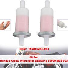 9.5mm 3/8'' In Line Fuel Gas Filter For Honda VTX1300 CBR600 900RR GL1800 GL1500