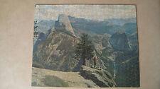 Vintage J.K. STRAUS Yosemite National Park Wooden Jigsaw Puzzle Original Box