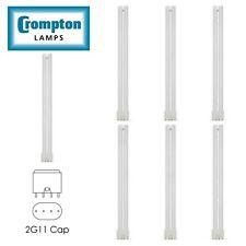 Crompton CFL Bulb Single Turn L Type PLL 2G11 4 Pin 4000K Cool White 40W PL LAMP