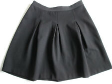 Aritzia Wilfred Black Short Skirt Pleated A-Line Small