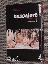 Vassalord Manga Vol. #1 - Nanae Chrono 2008 Tokyopop graphic novel - Like NEW