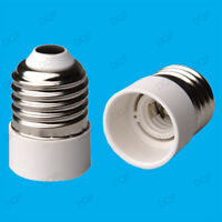 Edison Screw ES E27 To Small Edison Screw SES E14 Light Bulb Adaptor Lamp Holder