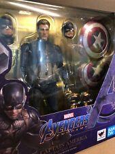 Bandai SH Figuarts CAPTAIN AMERICA Avengers Endgame Final Battle Edition Figure