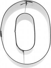Ausstecher Ausstechform Zahl 0, 6 cm Edelstahl /Ziffer/ Nummer 196551
