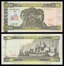 Eritrea 50 Nakfa  24-5-2011  Pick 9  SC = UNC