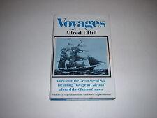 Voyages by Alfred T Hill 1977 HCDJ,Tristram Jordan,Saco,Maine,Voyage To Calcutta