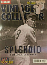 New October/Nov 2020 Beckett Vintage Collector Price Guide Magazine Ted Williams