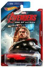 2015 Hot Wheels Marvel Avengers Age of Ultron #7 Thor Buzz Bomb
