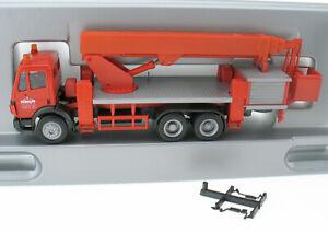 Herpa - Mercedes-Benz MB SCHOLPP LKW mit Ruthmann Steiger Hebebühne - 1:87 Truck