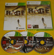 RAGE XBOX 360 Versione Ufficiale Italiana 1ª Edizione ••••• COMPLETO