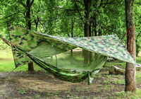 Hammock Camping Tent with Mosquito Net and Canopy Roof Awning Sky Tent