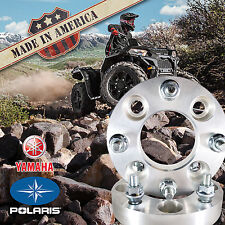 """2 pc. USA MADE 4x156 Wheel Adapters/Spacers 1.25"""" Thick for Polaris & Yamaha ATV"""