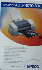 EPSON Stylus PHOTO 890 Bediehnungsanleitung , Benutzer-Handbuch plus 2 CDs
