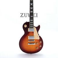 1959 SLP Standard Electric Guitar Figured Maple Top Tobacco Alnico Pickup Bone N