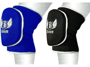 BOOM Knee Pads Caps Protectors MMA Volleyball Wrestling Padded Workwear Brace