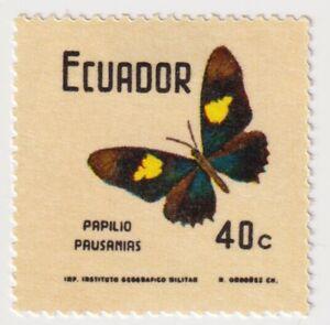 1970 Ecuador - Butterflies - 40 C Stamp
