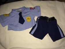 Build a Bear Police Uniform Top and Pants