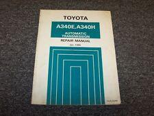 1985 1986 1987 1988 1989 Toyota Pickup A340H Transmission Service Repair Manual
