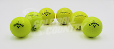 12 Callaway Assorted Yellow Mix AAA (3A) Used Golf Balls - FREE Shipping