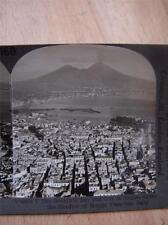Stereoscope Photograph   Naples & Vesuvius  Italy