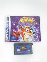 Crash Bandicoot Fusion | Nintendo Gameboy Advance | Spiel Modul + Anleitung