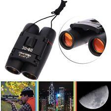New Day Night Vision 30 x 60 Zoom Outdoor Travel Folding Binoculars Telescope