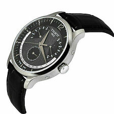 Tissot T-classic Tradition Black Leather Men's Watch T0636371605700