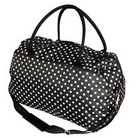 Womens Overnight Bag Ladies Mens Large Weekend Travel Hand Luggage Cabin Holdall